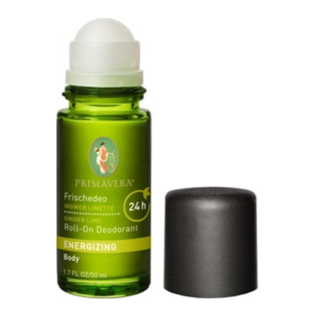 Energizing Ginger Lime Roll-On Deodorant