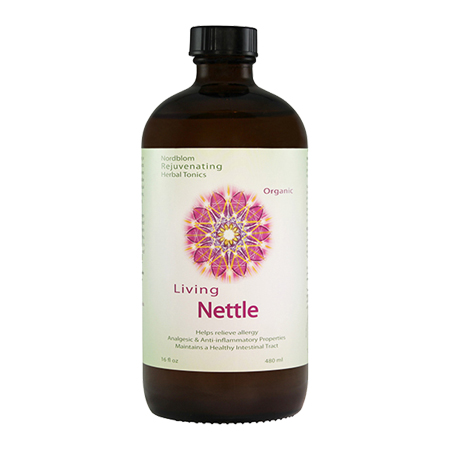 Organic Living Fermented Nettle probiotic supplement 16fl oz