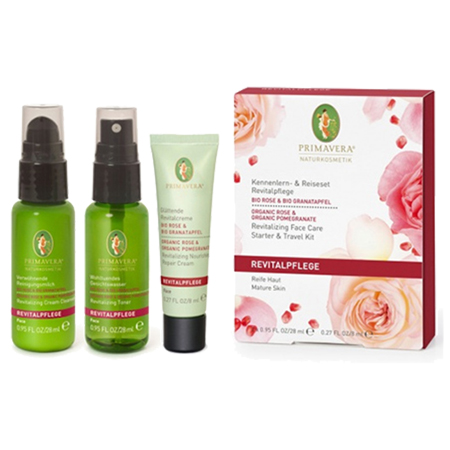 Revitalizing Travel/ Sample Kit Rose Pomegranate Primavera