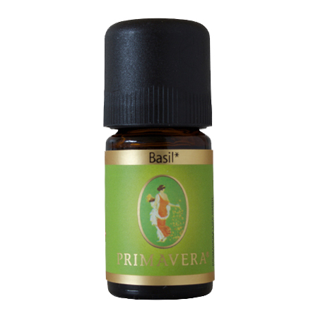 Organic Basil 100% Primavera 5ml