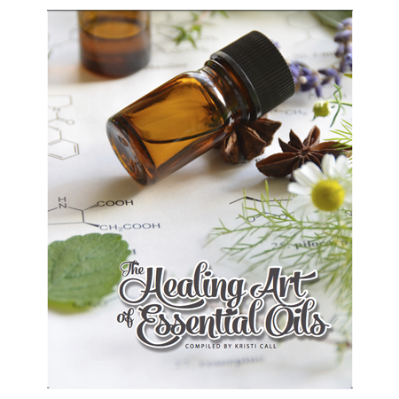 The Healing art of essential oils-Physical Book