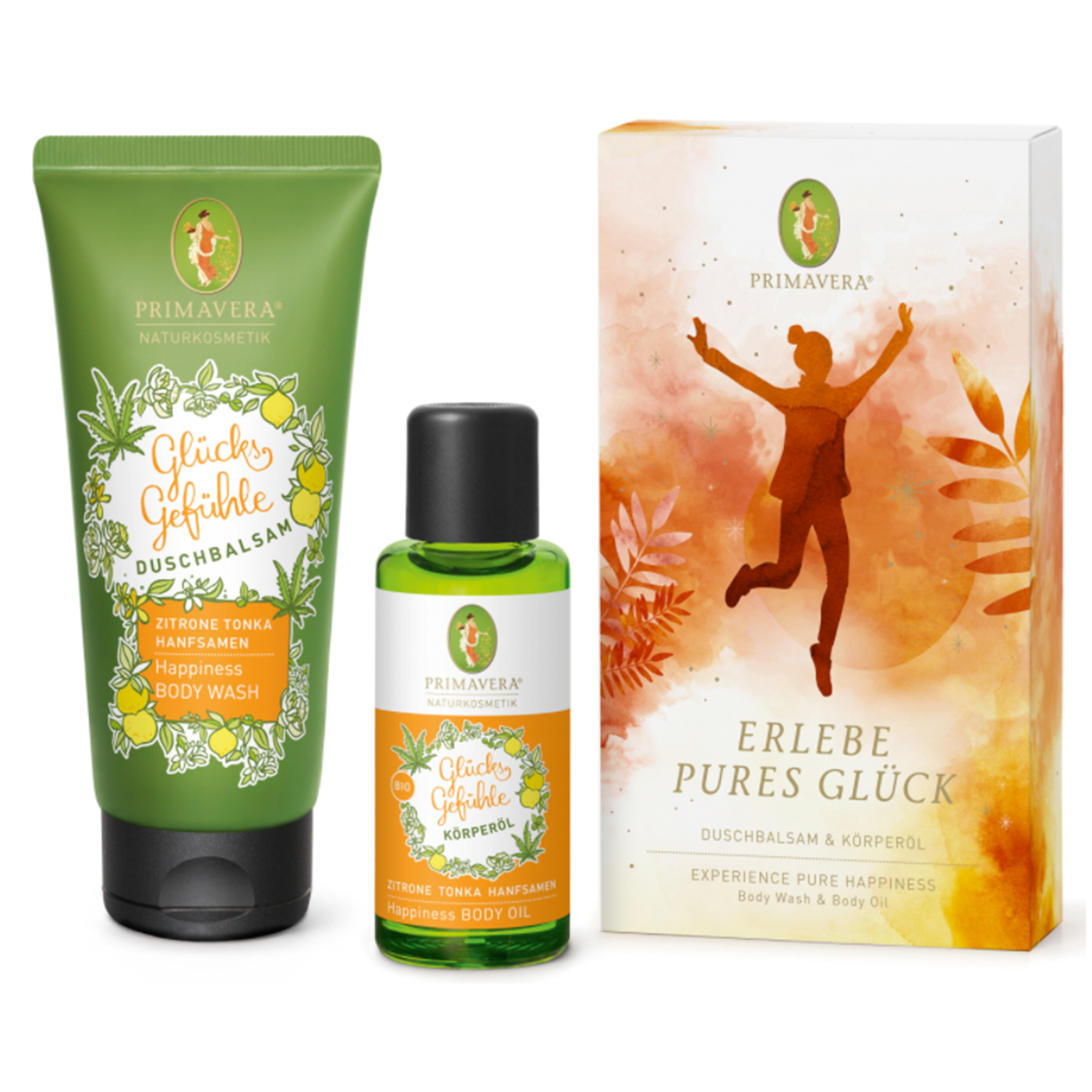Experience pure happiness gift set