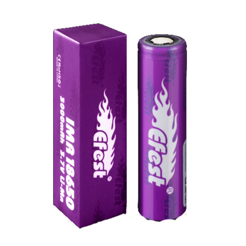 Efest 3000 mAh 100 Pack