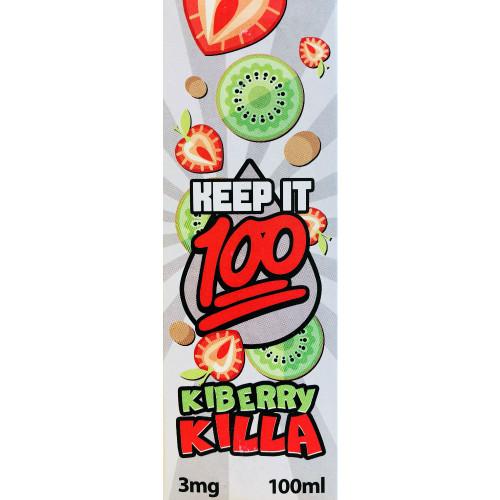 Keep it 100 Kiberry Killa (100ml)