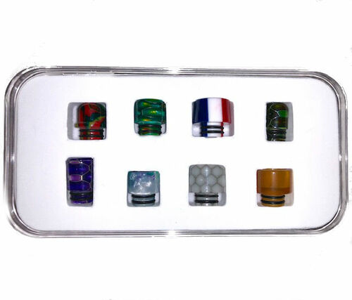 510 Drip Tip Set (8 Pack)