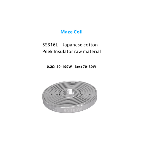 Maze Coil (3 Pack)