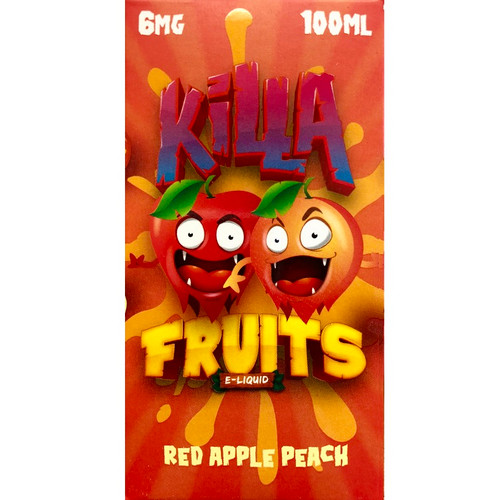 Red Apple Peach (100ml) Killa Fruits