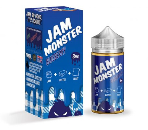 Blueberry (100ml) Jam Monster