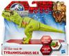 Jurassic World Bashers & Biters Tyrannosaurus Rex Action Figure [Green]