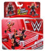 WWE Wrestling Mighty Minis Portable Mini Ring Playset [Seth Rollins & Roman Reigns]
