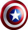 Marvel Legends Gear Captain America Shield Prop Replica [Movie Version]