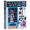 McFarlane Toys Five Nights at Freddy's Sister Location Funtime Freddy with Stage Right Micro Figure Build Set