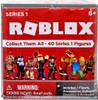 Roblox Series 1 Mystery Pack [Silver Cube, 1 RANDOM Figure & Virtual Item Code!]