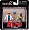The Walking Dead Minimates Series 4 Alice & Shoulder Zombie Exclusive Minifigure 2-Pack