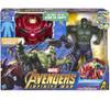 Marvel Avengers Infinity War Hulk Out Hulkbuster Deluxe Action Figure Set