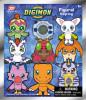 3D Figural Keyring Digimon Series 1 Mystery Box [24 Packs]