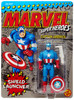 Marvel Super Heroes Captain America Action Figure [with Shield Launcher, 1990]