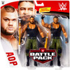 WWE Wrestling Battle Pack Series 62 Akam & Rezar Action Figure 2-Pack [AOP Authors of Pain]