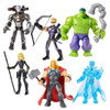 Disney Marvel Avengers Toybox Thor, Iron Patriot, Ronin, Black Widow, Doctor Strange & Hulk Exclusive Action Figure 6-Pack