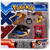 Pokemon Catch n Return Pokeball Helioptile & Quick Ball Figure Set