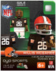 Cleveland Browns NFL Generation 2 Series 2 Willis McGahee Minifigure
