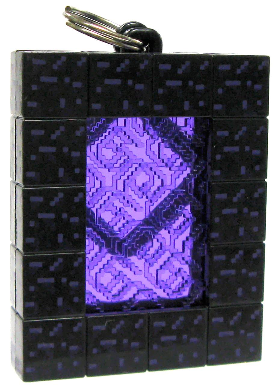 Loose Minecraft Hangers Series 2 Nether Portal 3-Inch Keychain