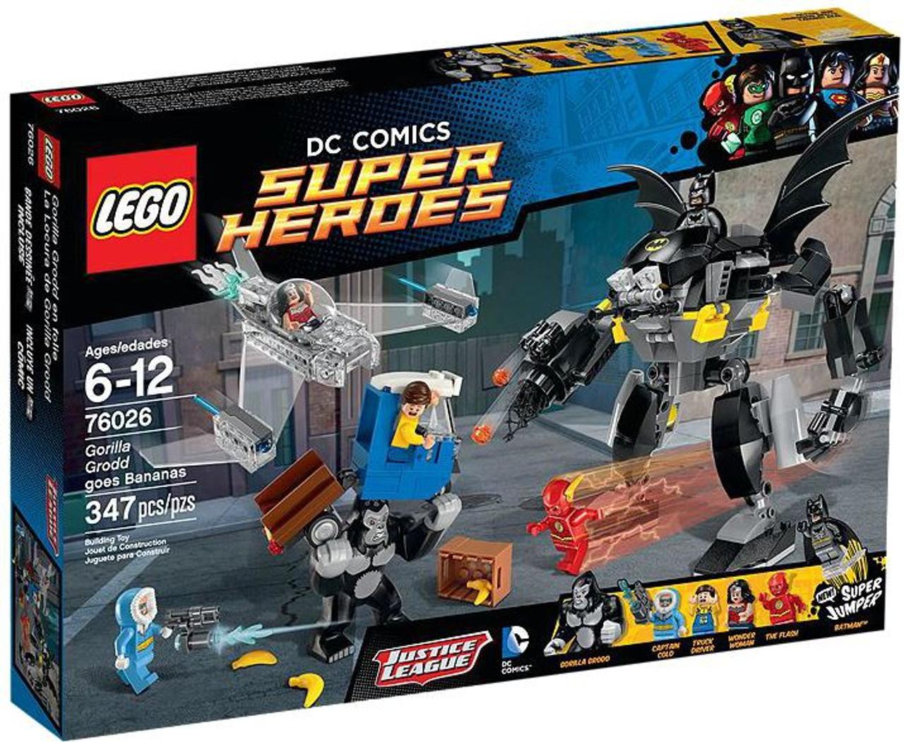 Lego Dc Super Heroes Gorilla Grodd Goes Bananas Set 76026 Toywiz