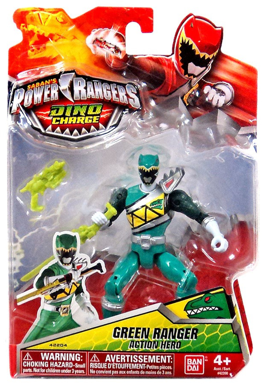 - Power Rangers Dino Charge Green Ranger 5 Action Figure Bandai