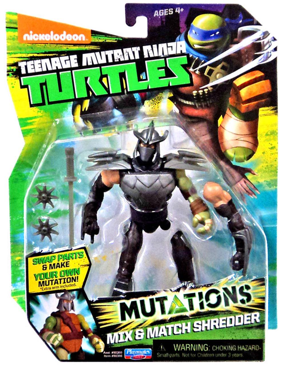 Teenage Mutant Ninja Turtles Nickelodeon Mutations Mix Match