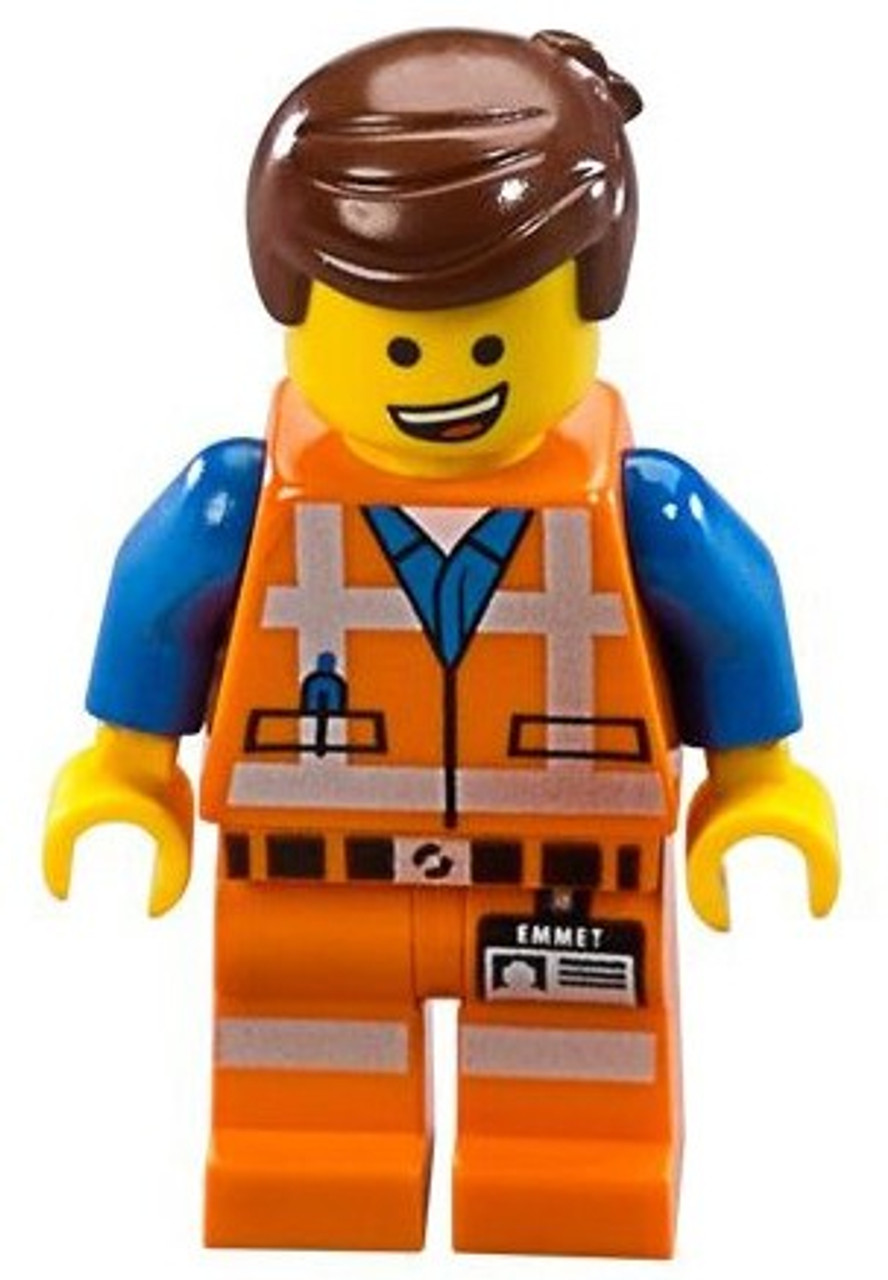 The Lego Movie Emmet Minifigure No Accessories Loose Toywiz