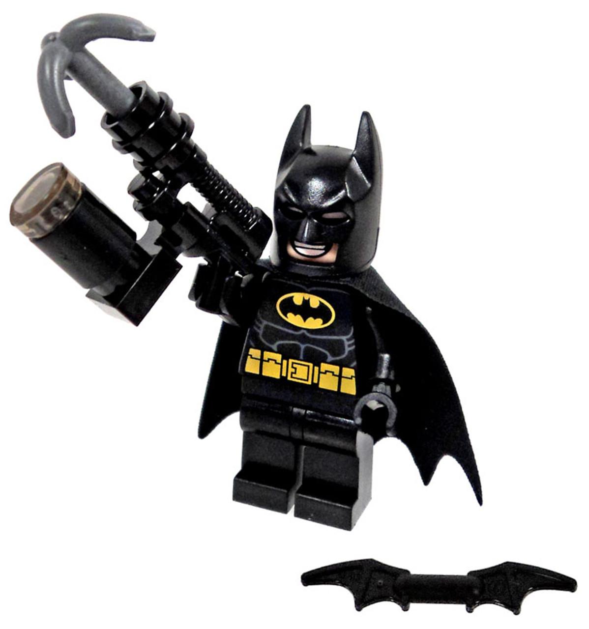 Minifig Weapon LEGO Black Grapple Hook Gun Batman
