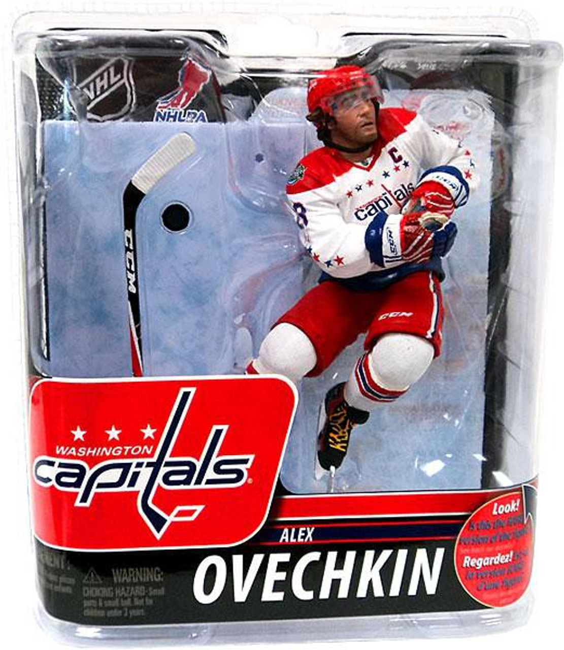 071aed120 McFarlane Toys NHL Washington Capitals Sports Picks Series 29 Alexander  Ovechkin Action Figure Damaged Package - ToyWiz