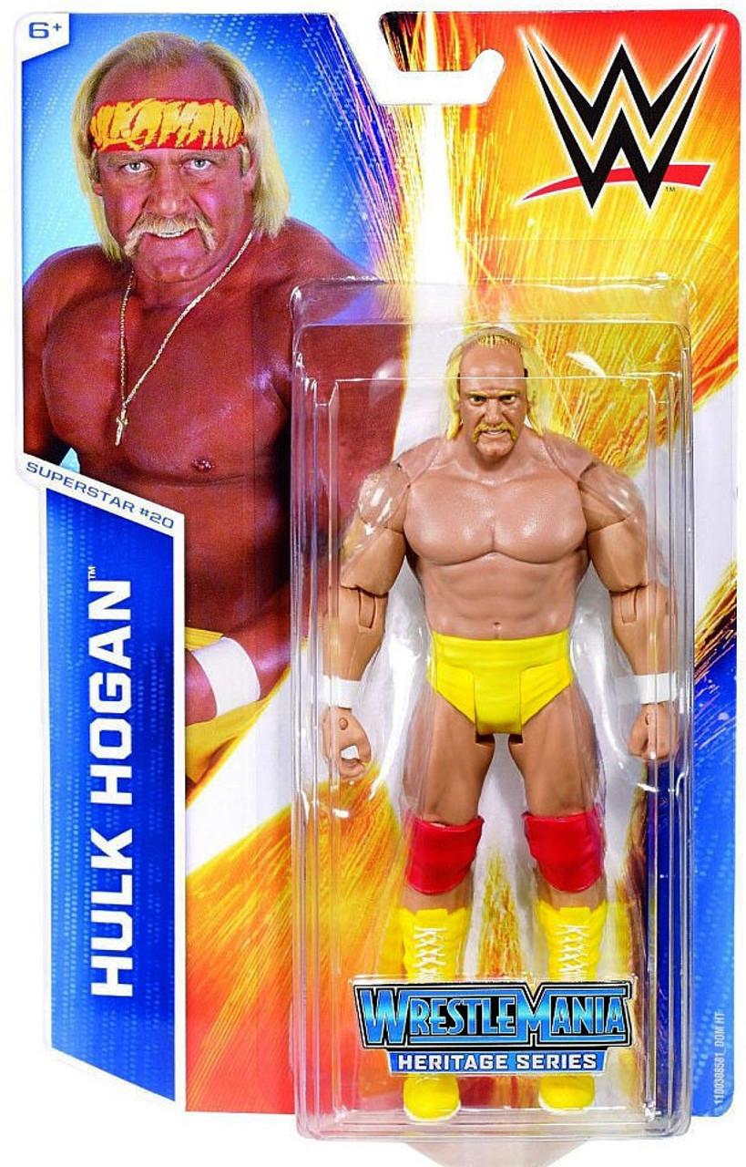 WWE Wrestling Series 48 Hulk Hogan Action Figure 20 Mattel Toys ...