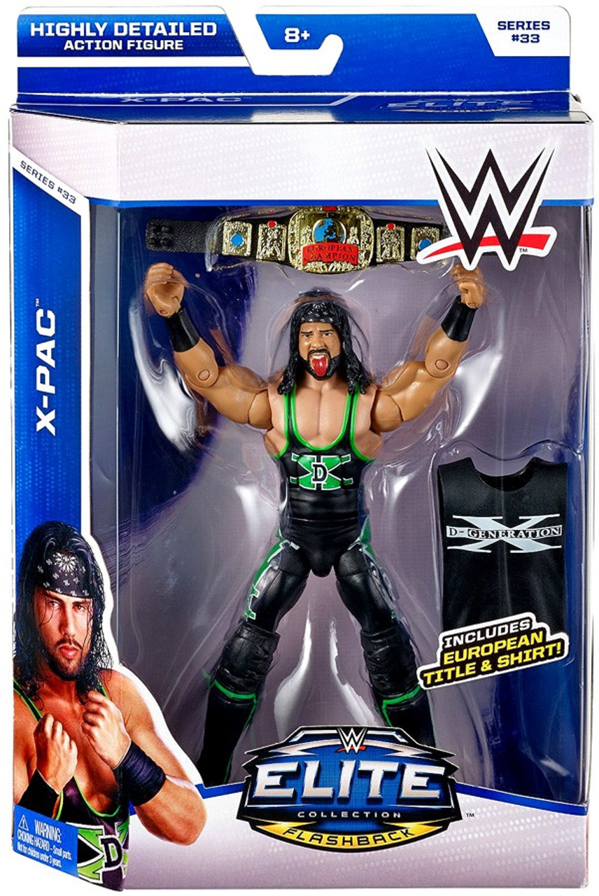 WWE WRESTLING MATTEL ELITE SERIES ACTION FIGURE FIGURINE SUPERSTARS WRESTLER WWF