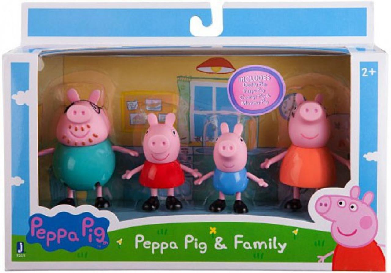 Peppa Pig Build /& Play Small Figure Bag Rebecca Rabbit