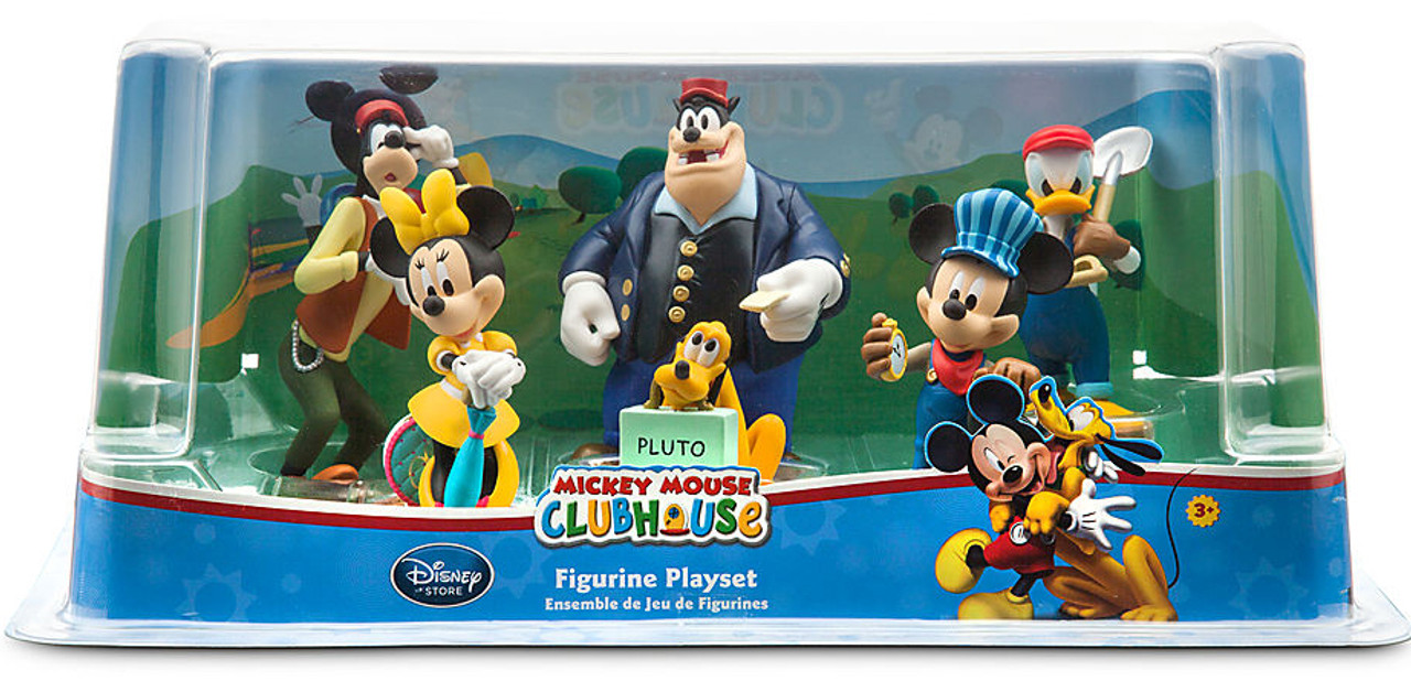 Disney Junior Mickey Mouse Clubhouse Firehouse Set w//Light Sound /& Donald Duck
