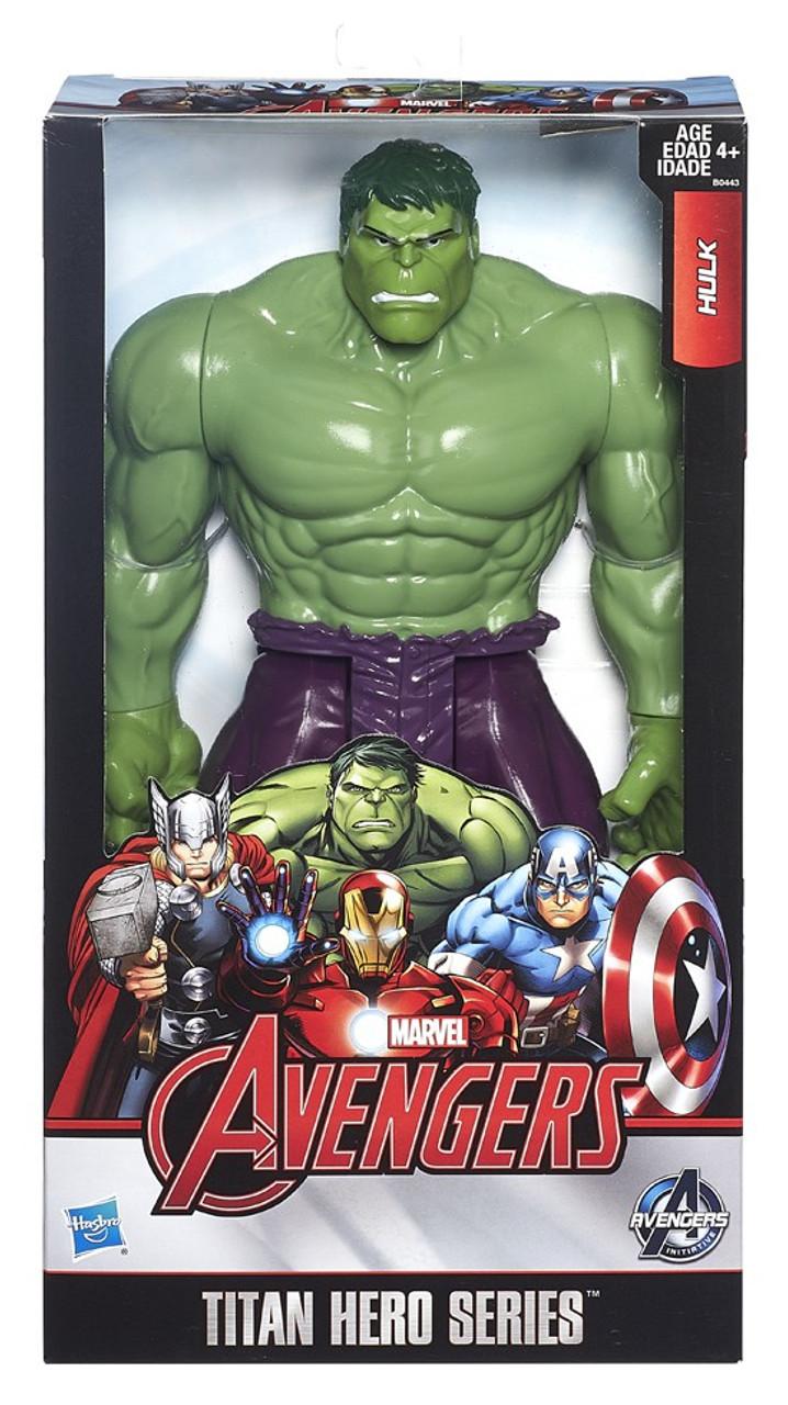 Avengers Hulk 12 Marvel Hero Figure Titan Series Action QdBsrhCxt