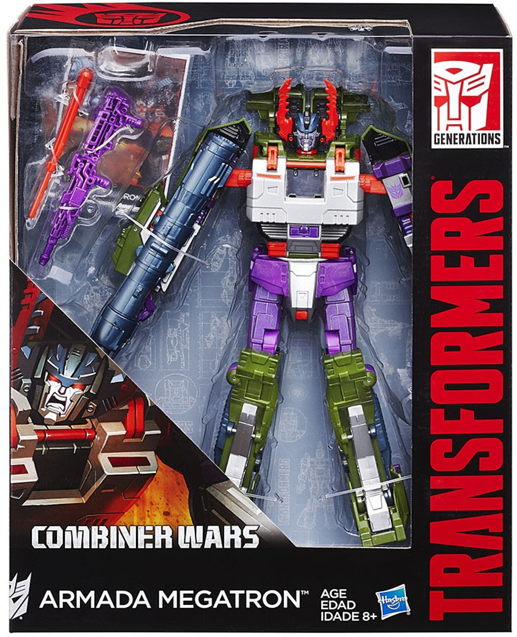 HASBRO TRANSFORMERS COMBINER WARS VOYAGER CLASS OPTIMUS PRIME ACTION FIGURE