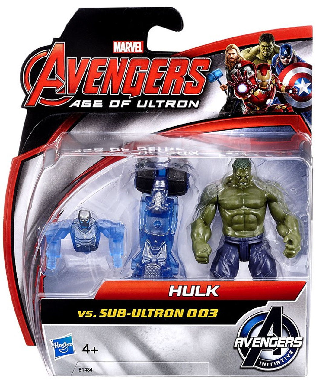 Marvel Avengers Age of Ultron Hulk VS Sous-Ultron 003 2.5 pouces figure pack