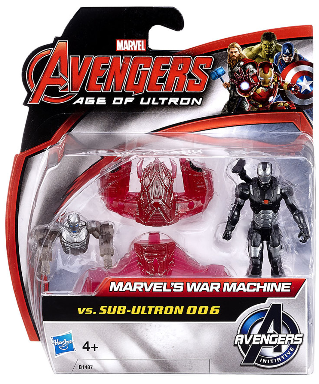 Sub-Ultron 006 2.5-inch Figure ... Marvel Avengers Age of Ultron War Machine Vs