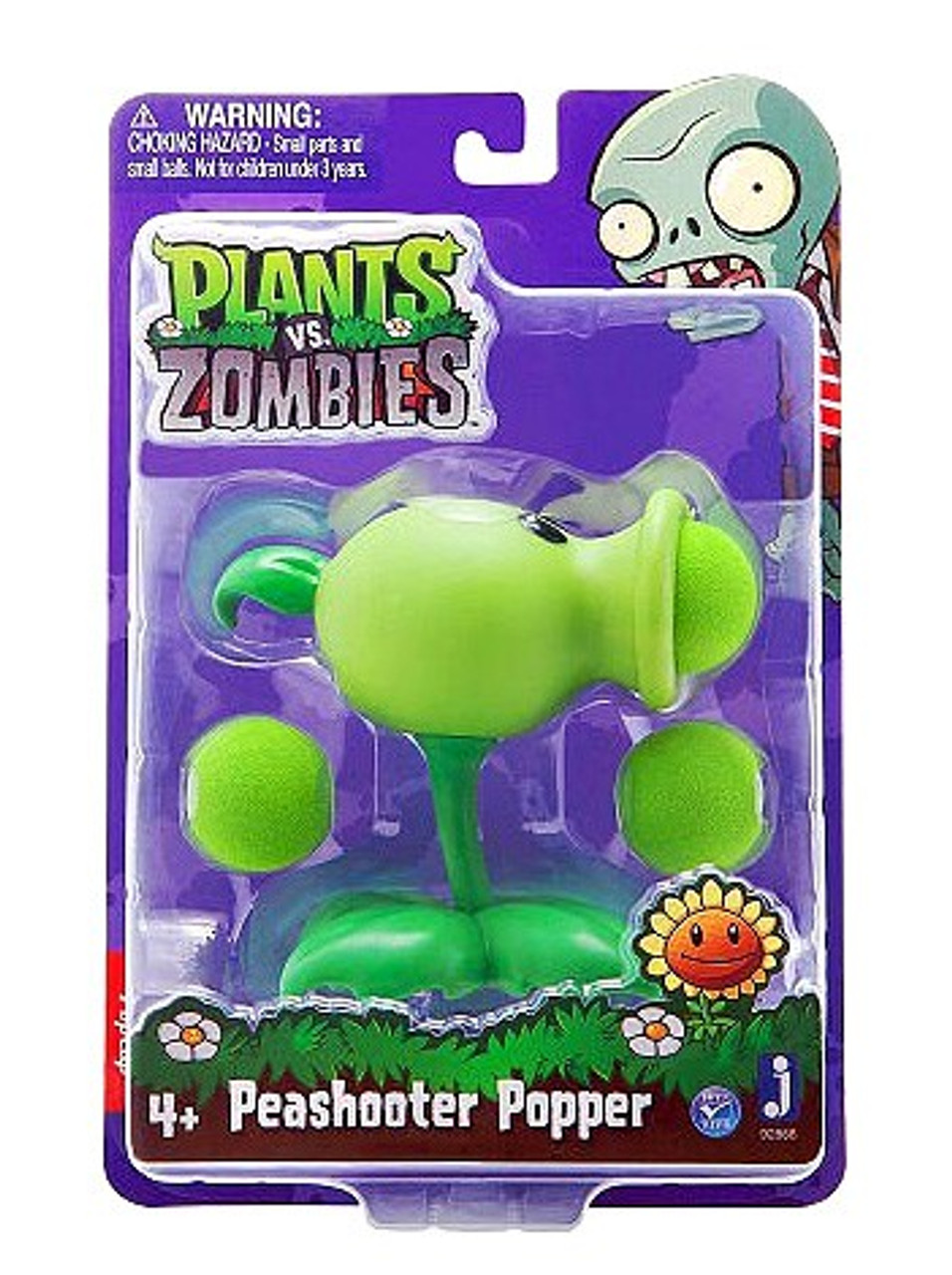 2 Zomb New Plants vs Zombies Toys Package Set with Lights and Sounds 3 Plants