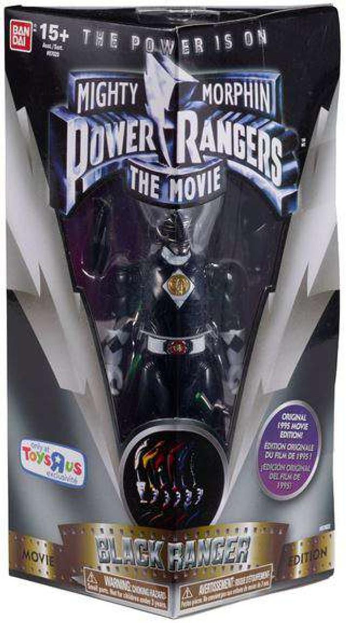 Black 5-Inch Power Rangers Figures Movie Action Hero