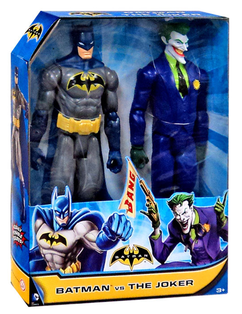 "DC Comic Justice League Batman/& Deathstroke 4/"" Loose Action Figure"