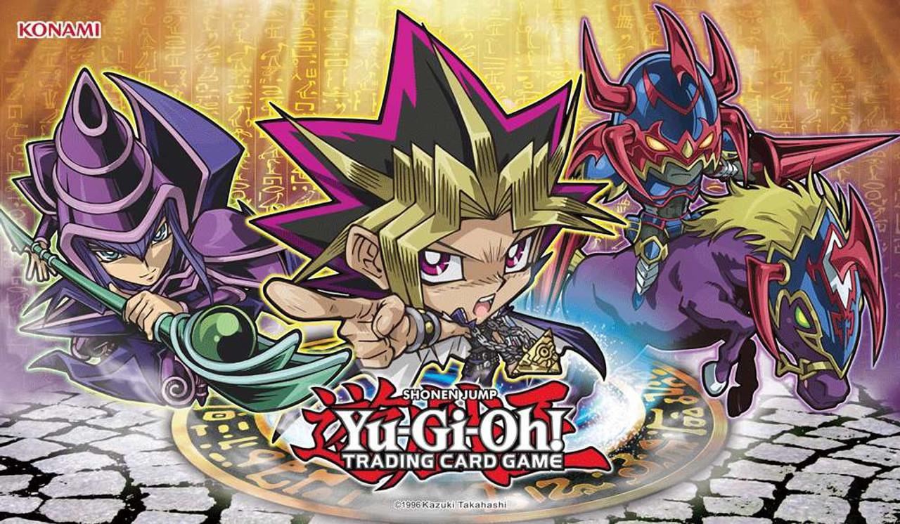 Yugioh Duelist Kingdom Yugi Game Mat Chibi Konami Toywiz
