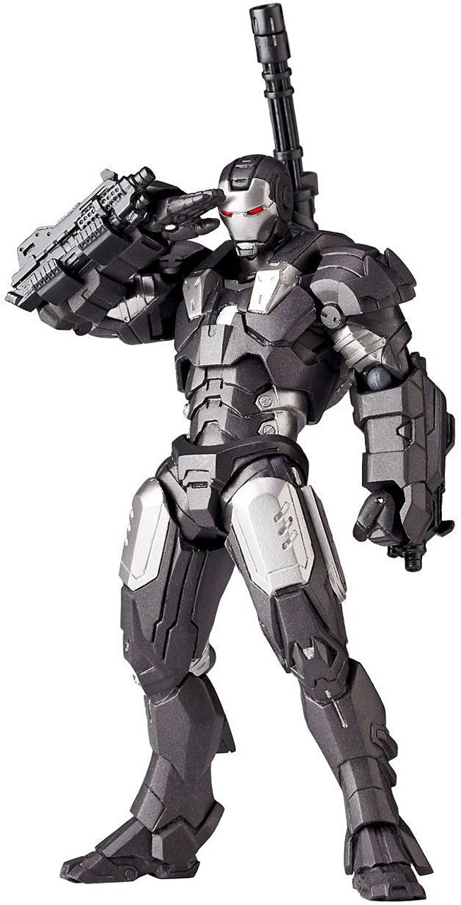 New Revoltech Rivol-Mini RM-006 Iron Man 2 War Machine Action Figure Japan