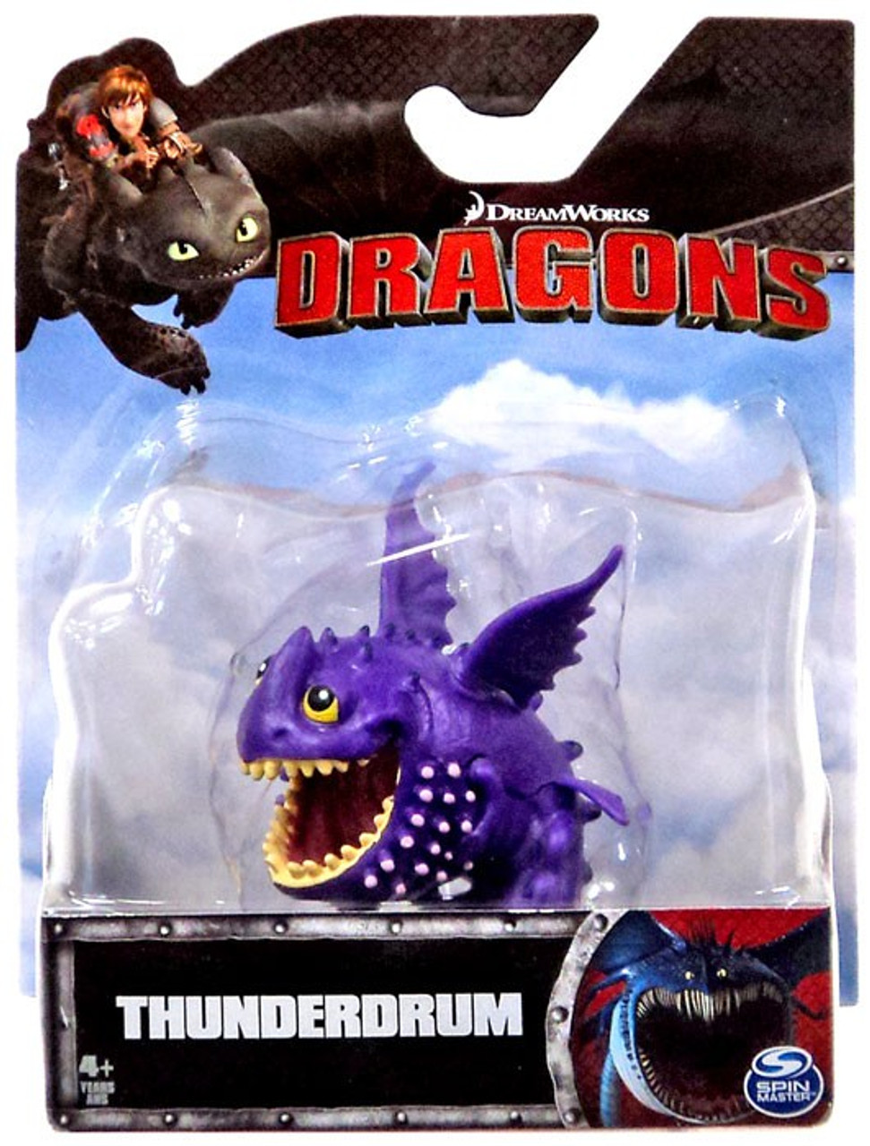 How to Train Your Dragon Dragons Thunderdrum 3 Mini Figure ...