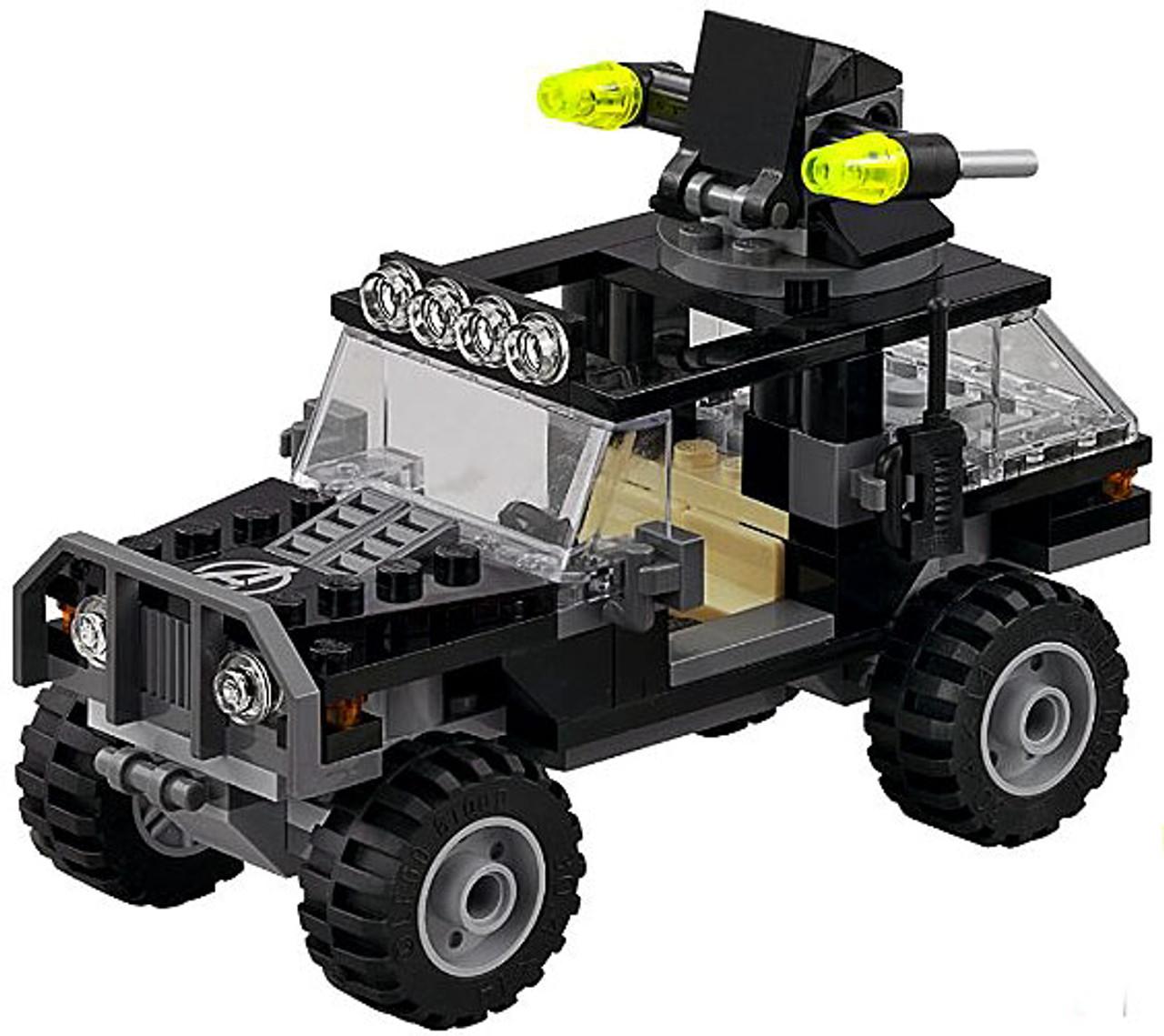 LEGO Marvel Super Heroes Avengers Jeep Loose Vehicle Age ...
