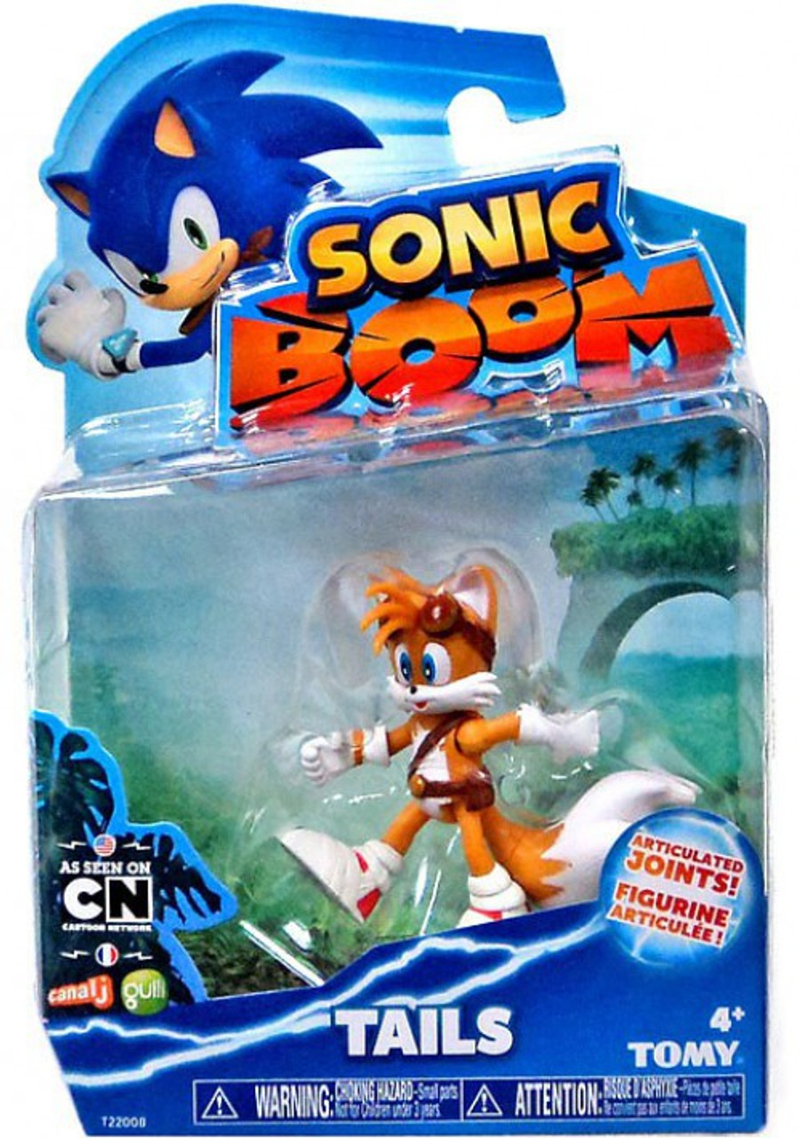 Sonic The Hedgehog Sonic Boom Tails 3 Action Figure Tomy Inc Toywiz