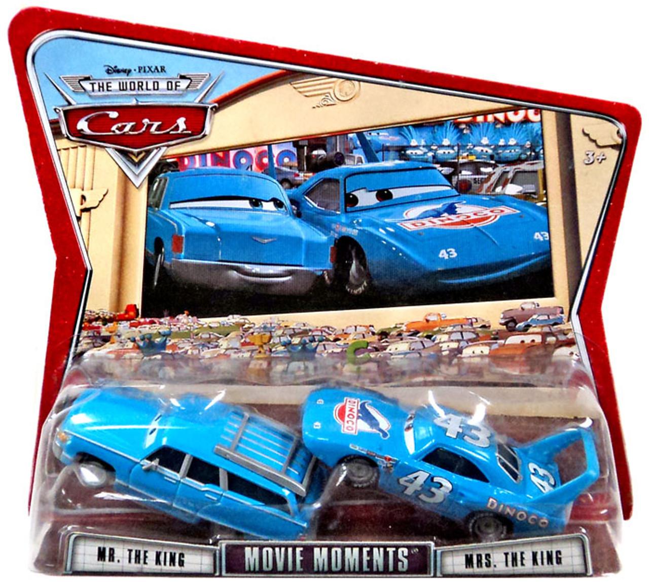 Disney Pixar Cars Movie Moments Mr Mrs The King 155 Diecast Car