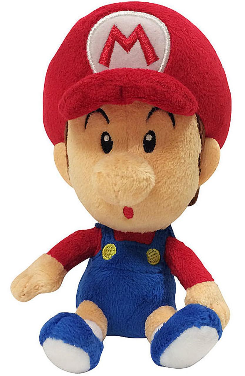 World of Nintendo Super Mario Baby Mario 7 Plush Jakks